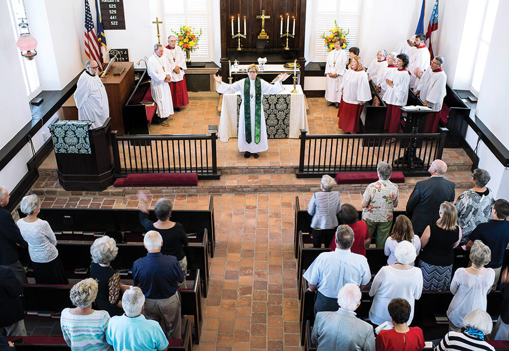 Christian dating episcopalian service