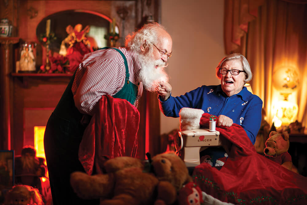 High Point Seamstress Brings Santa to Life