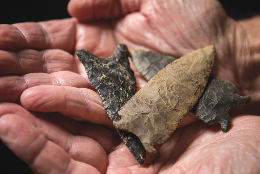 Ramblin' Man: Discovering Native American Artifacts in the Uwharrie Mountains