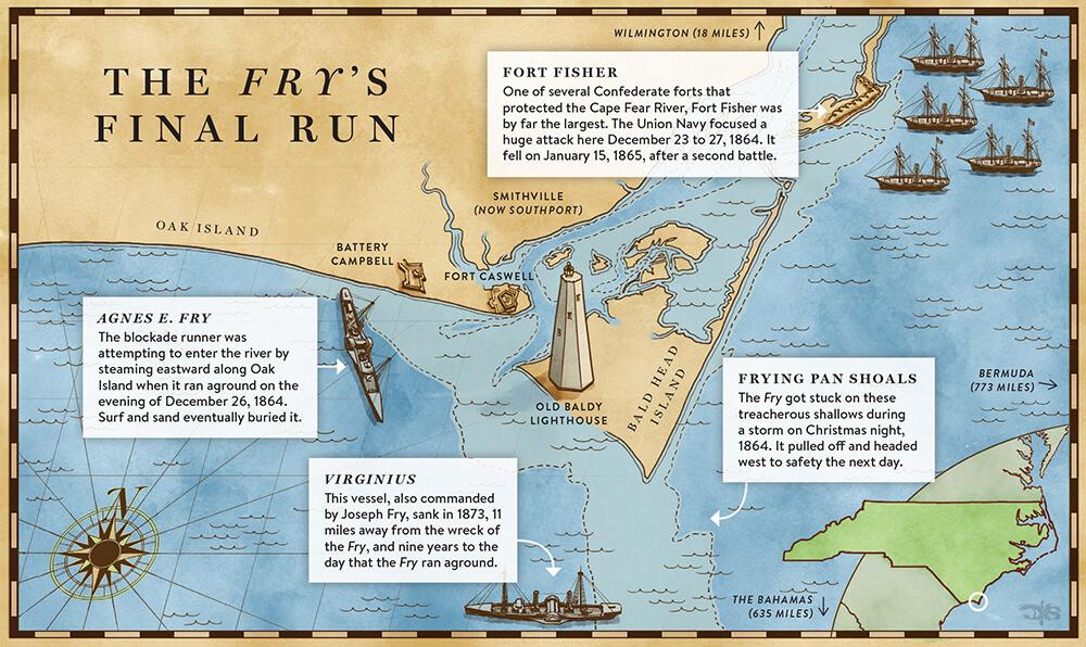 The Final Voyage Of The Agnes E Fry Our State Magazine