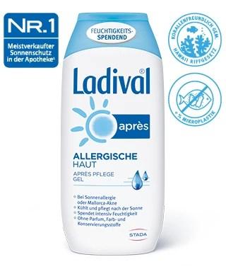 after sun gel fur allergische haut