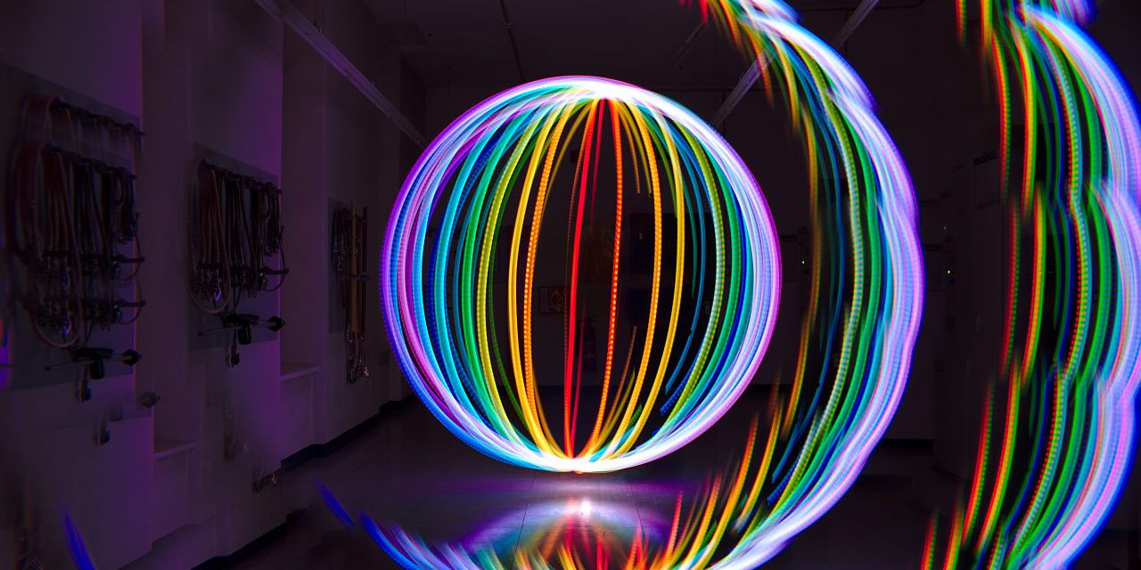 hight resolution of colours in light painting part 4