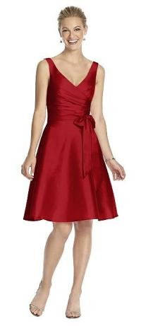 Garnet Bridesmaid Dresses | The Dessy Group