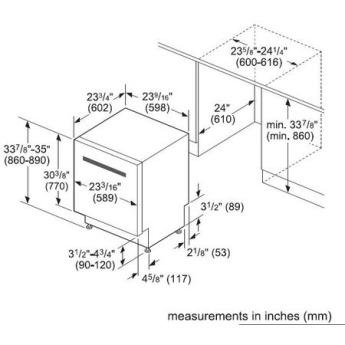 Bosch SHVM63W53N 24