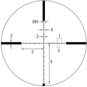 Vortex 6-24x50 Viper HS-T Riflescope VHS-4310 Greentoe Optics