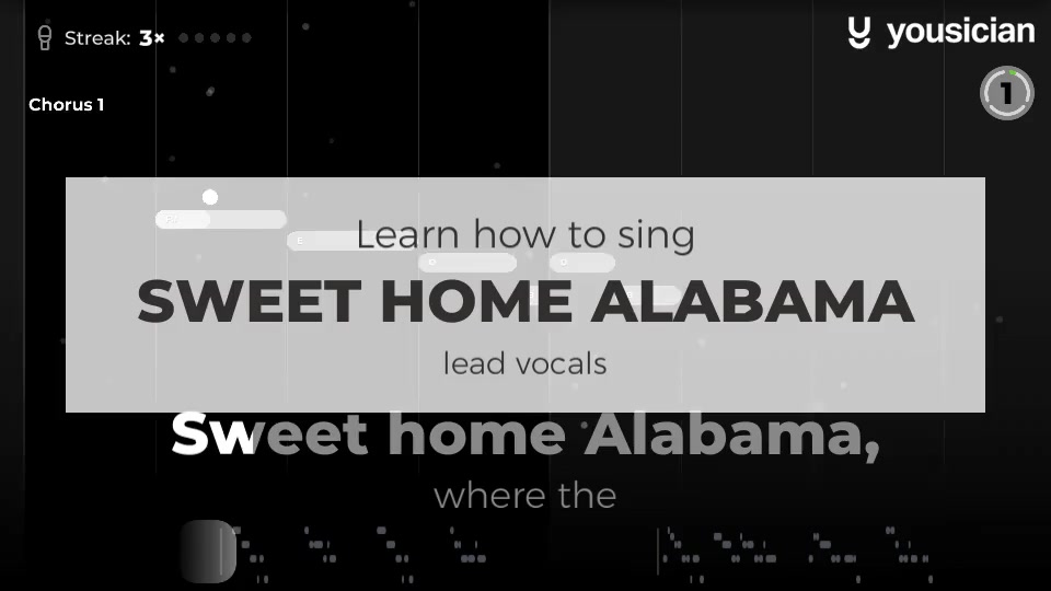 """He had a great way with a simple story, a song you could relate to."""" skynyrd's impassioned defence of the south even caught the ear of neil young. Learn How To Sing Sweet Home Alabama Yousician"""