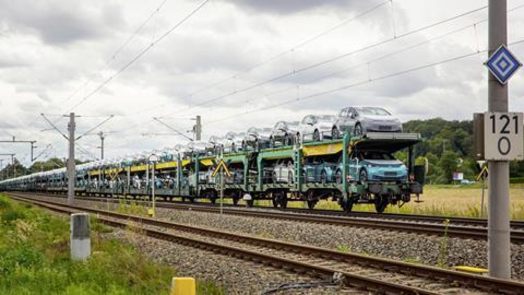 VW ID.3 train