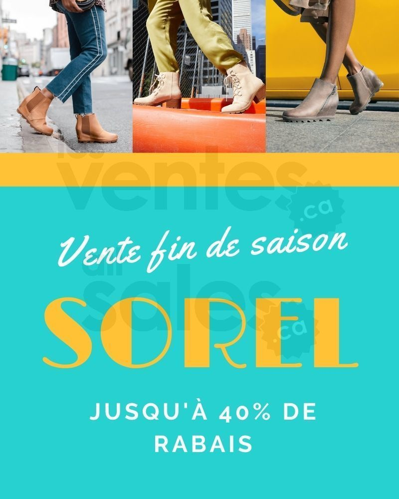 En Tout Et Pour Tout : Sorel, Vente, Saison, Jusqu'à, Lesventes.ca
