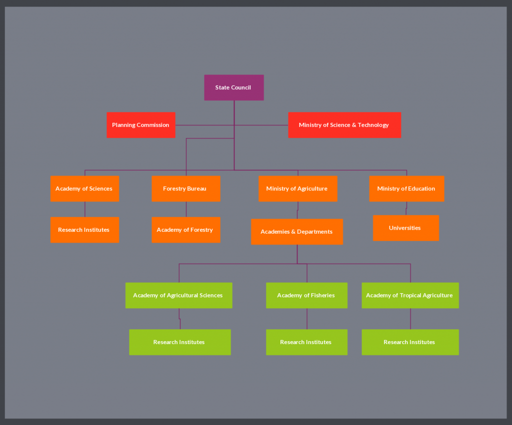 Organizational Chart Template Of A State Council