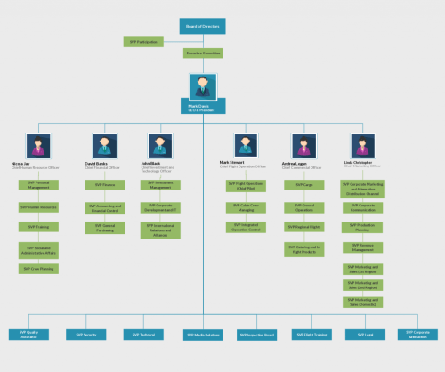 small resolution of org chart template for airline