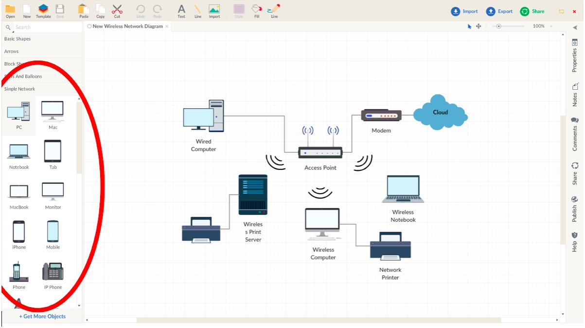 hight resolution of create a network diagram network diagram guide