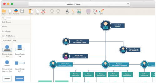 small resolution of tools and templates to create organizational charts