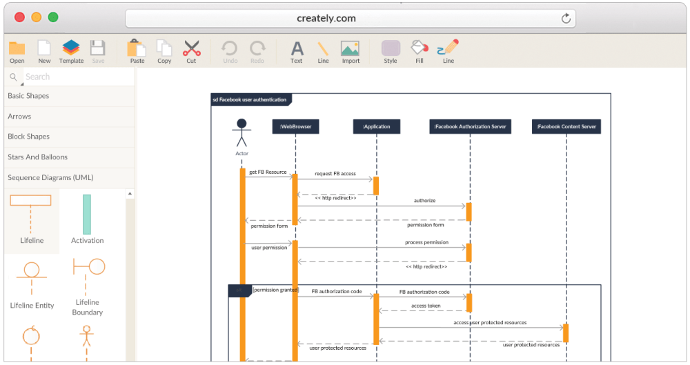 medium resolution of create sequence diagrams online sequence diagram tool program logic diagram tool