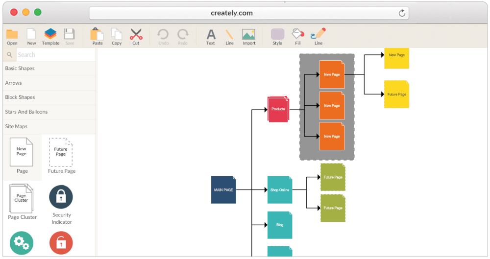 medium resolution of tools and templates to create detailed website structure diagrams