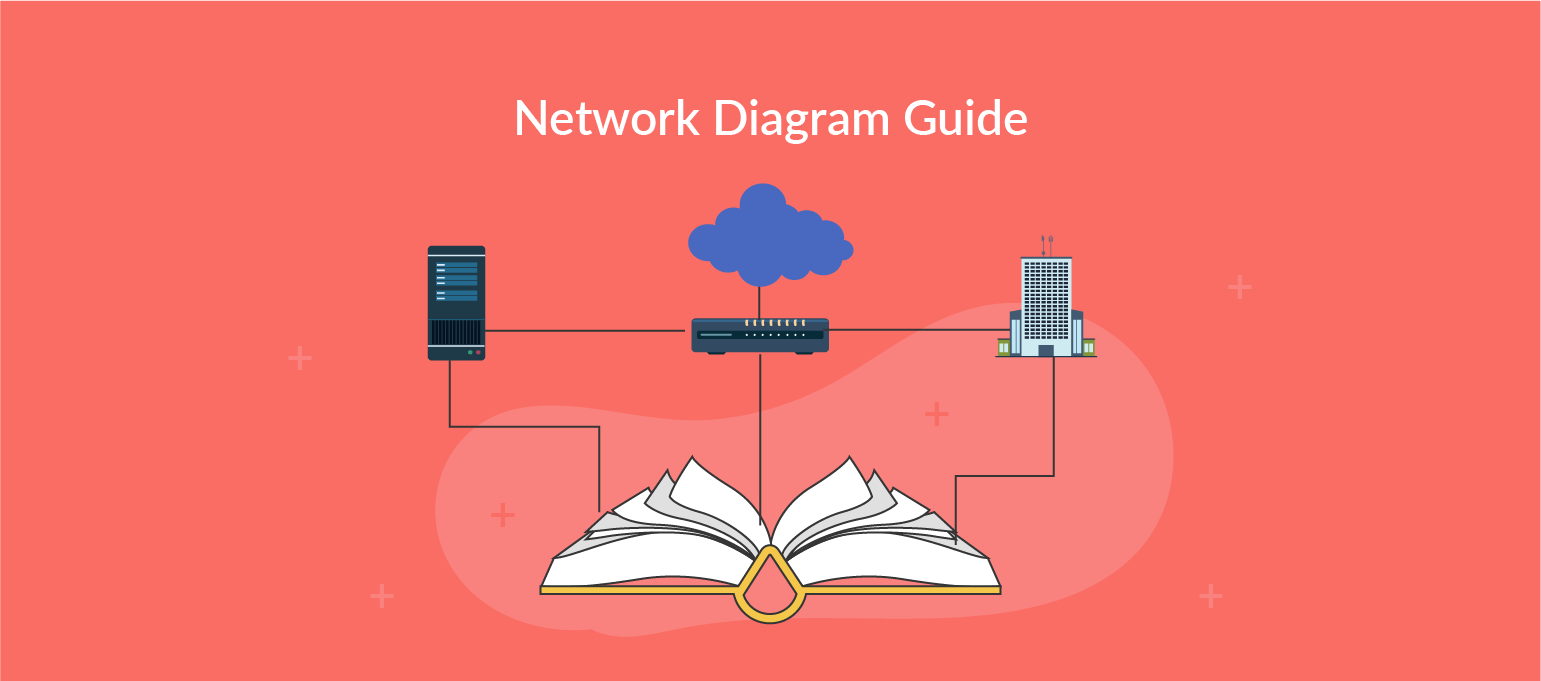 hight resolution of small busines network diagram icon