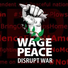 Wage Peace on Twitter