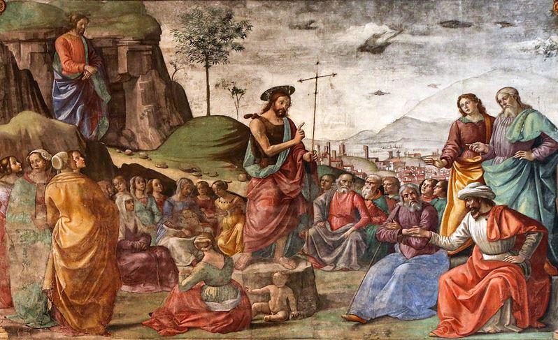 L'humilité de saint Jean-Baptiste