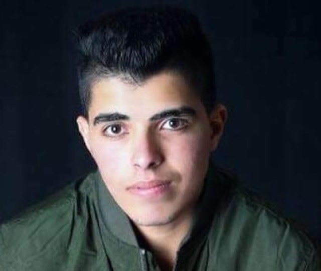 Israeli Forces Shot Ali Qinu In The Head On Thursday During Clashes In Iraq Burin In The Northern West Bank Photo Courtesy Of Qinu Family