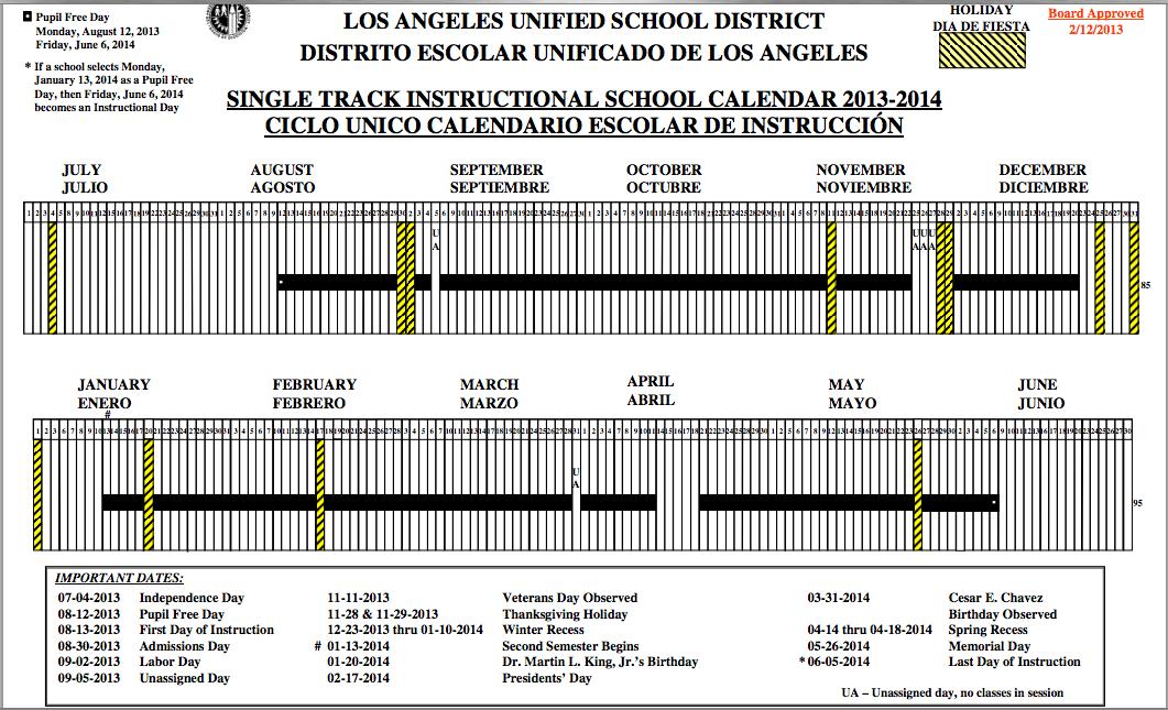 Public School Calendar 2012 13 Nyc | Calendar 2006 With
