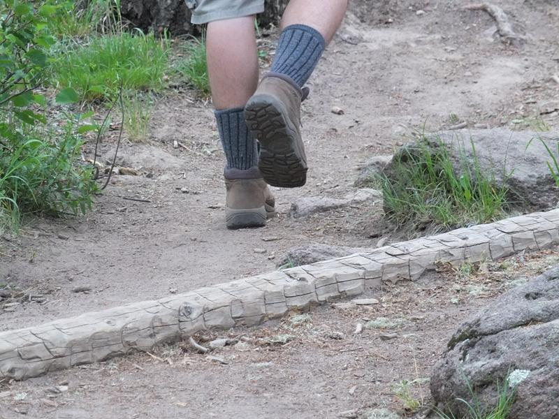 boots on the trail