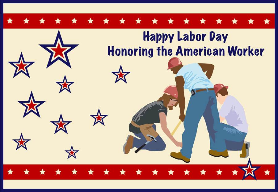 celebrate labor day honoring