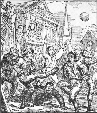 Fútbol de carnaval medieval