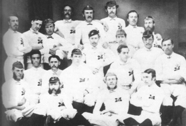 Primer equipo de Inglaterra 1871