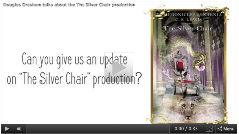 the silver chair movie 2015 ultimate video game breaking narnia news official announcements com douglas gresham shares an production update on