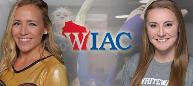 Kopp and Rehberg Pick Up WIAC Gymnast of the Week Honors