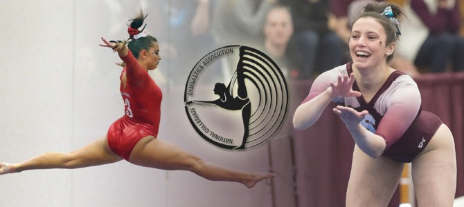 DeAngelo and Passalacqua Earn Final NCGA East Gymnast of the Week Honors