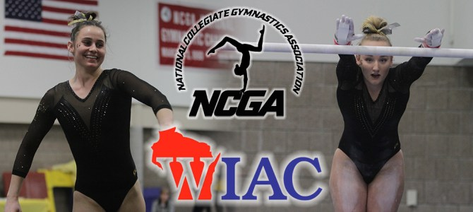 Malo and Ardy Clean Up WIAC Gymnast of the Week Honors