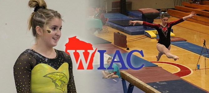Gilot and Webb Earn First WIAC Gymnast of the Week Honors of 2019