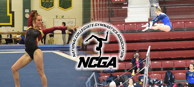DiBiase and Christoforo Selected For NCGA East Gymnast of the Week Honors