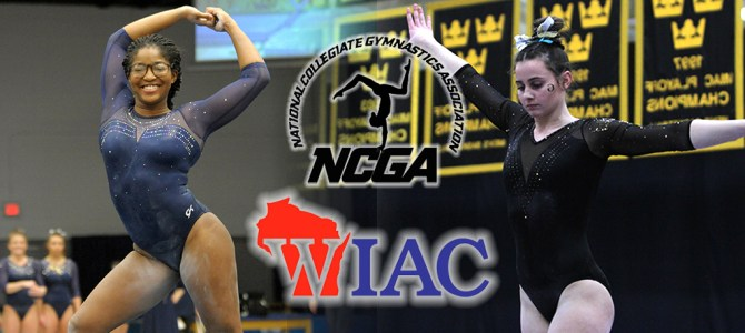 Boone and Malo Clean Up WIAC Gymnast of the Week Honors
