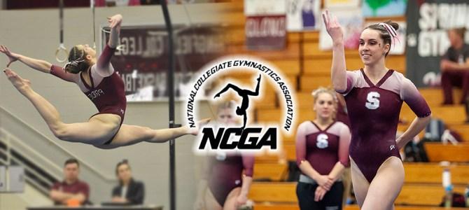 Rushlow and Clemens Garner Final NCGA East Gymnast of the Week Honors of 2019 Season