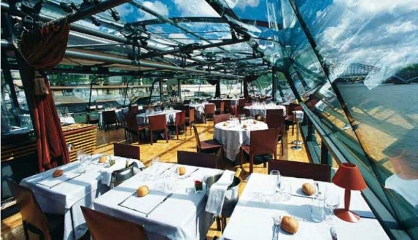 La Marina de Paris Boat Tour w/ Lunch / Orsay Menu