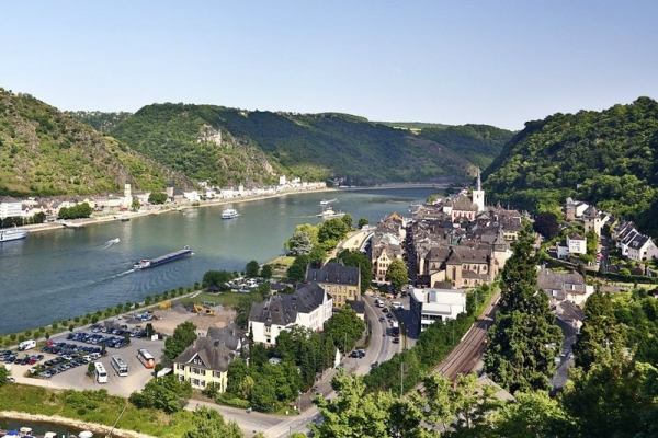 Frankfurt City Tour with Rhine River Cruise