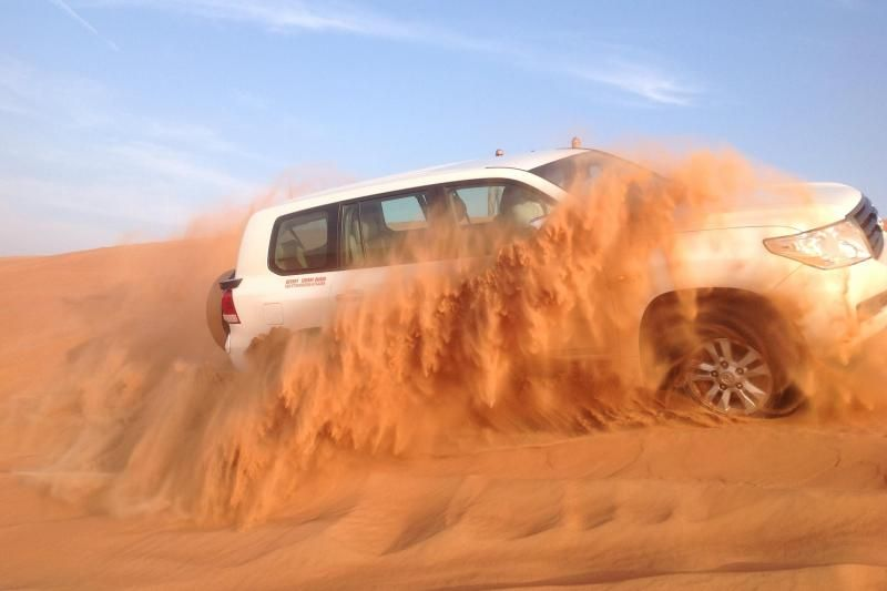Evening Desert Safari with BBQ Dinner from Dubai