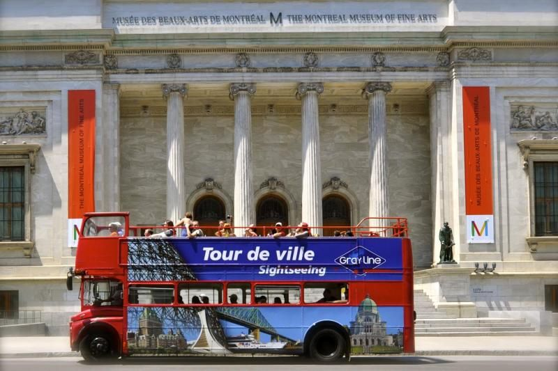 Montreal Hop-On Hop-Off Sightseeing Tour