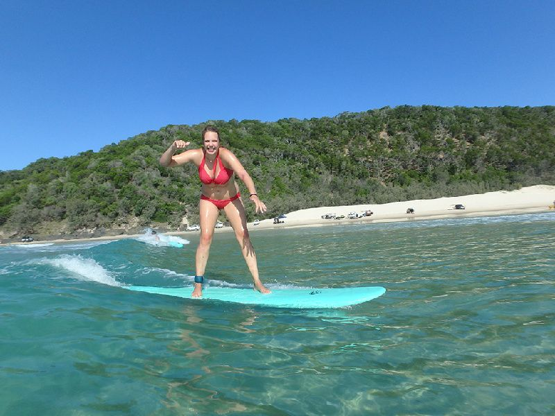 Noosa Surfing Lessons + Great Beach Tour