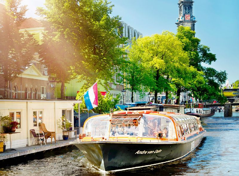 Amsterdam City Tour incl. Canal Cruise Ticket