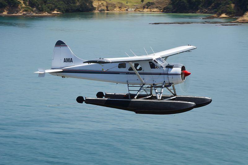 Rangitoto Island & Auckland Seaplane Flight