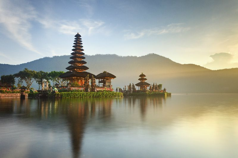 Private Bali Water Temples Tour with lunch
