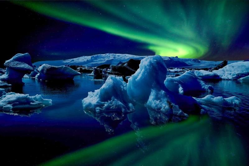 2-Day Ice Cave Iceland and Glacier Lagoon Tour Package