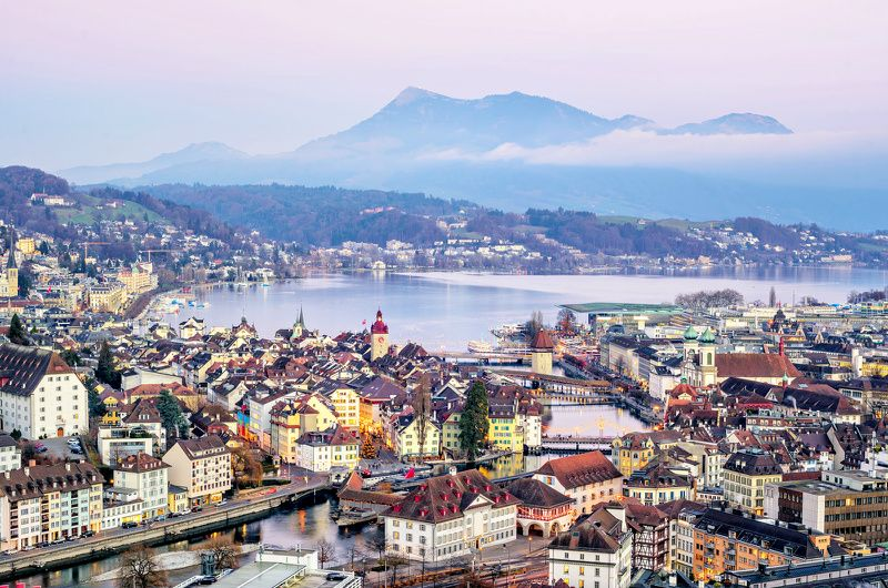 4-Day Lucerne Holiday Package with Mount Titlis