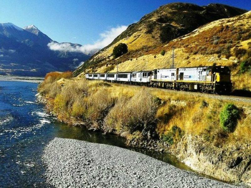 Arthur's Pass Tranzalpine Train W/ Scenic Transfers
