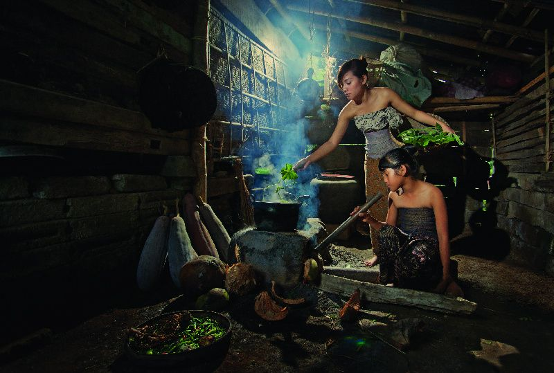 Balinese Cooking Class and Ibah Trekking