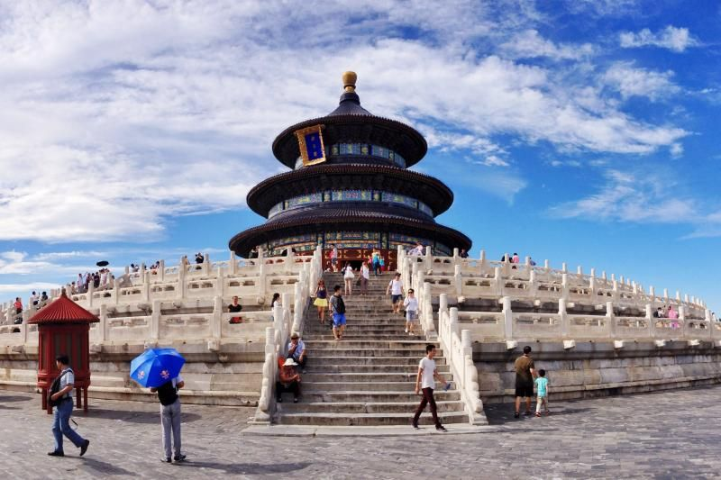 Half-Day Temple of Heaven & HongQiao Pearl Market Tour