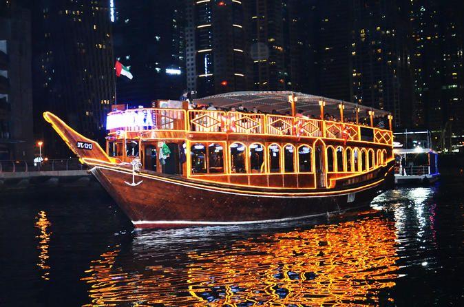 1- Day Exotic Dubai Marina Dinner Cruise