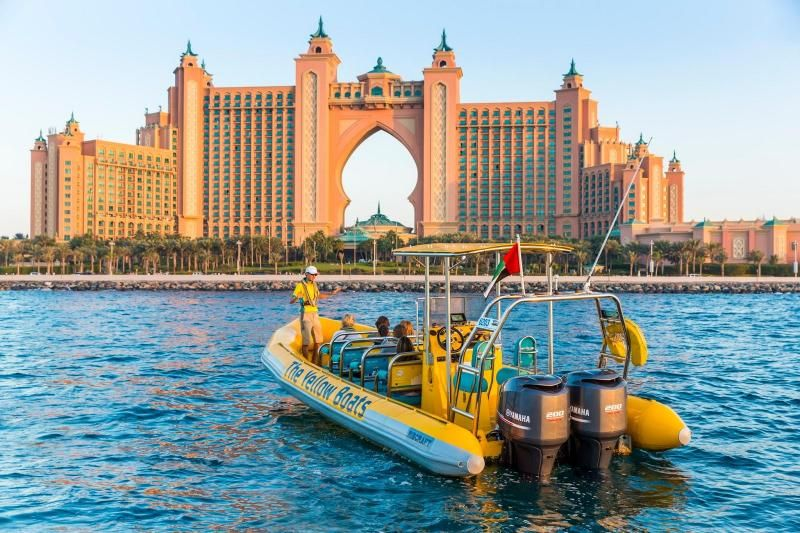 Dubai Yellow Boats Sightseeing Cruise